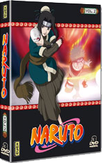 Naruto Volume 2 - Coffret digipack 3 DVD